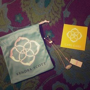 KENDRA SCOTT Gold Kycocera Opal Elaina Bracelet OS